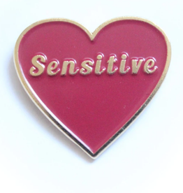 Tender Ghost Sensitive Heart Pin