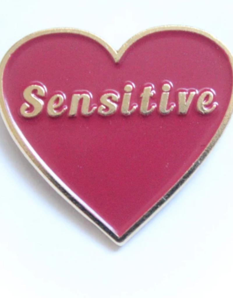 Tender Ghost Sensitive Heart Pin