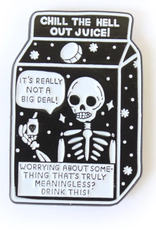 Tender Ghost Chill the Hell Out Pin