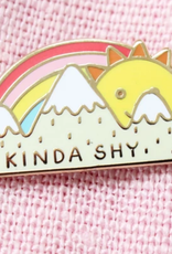 Tender Ghost Kinda Shy Sun & Mountains Pin
