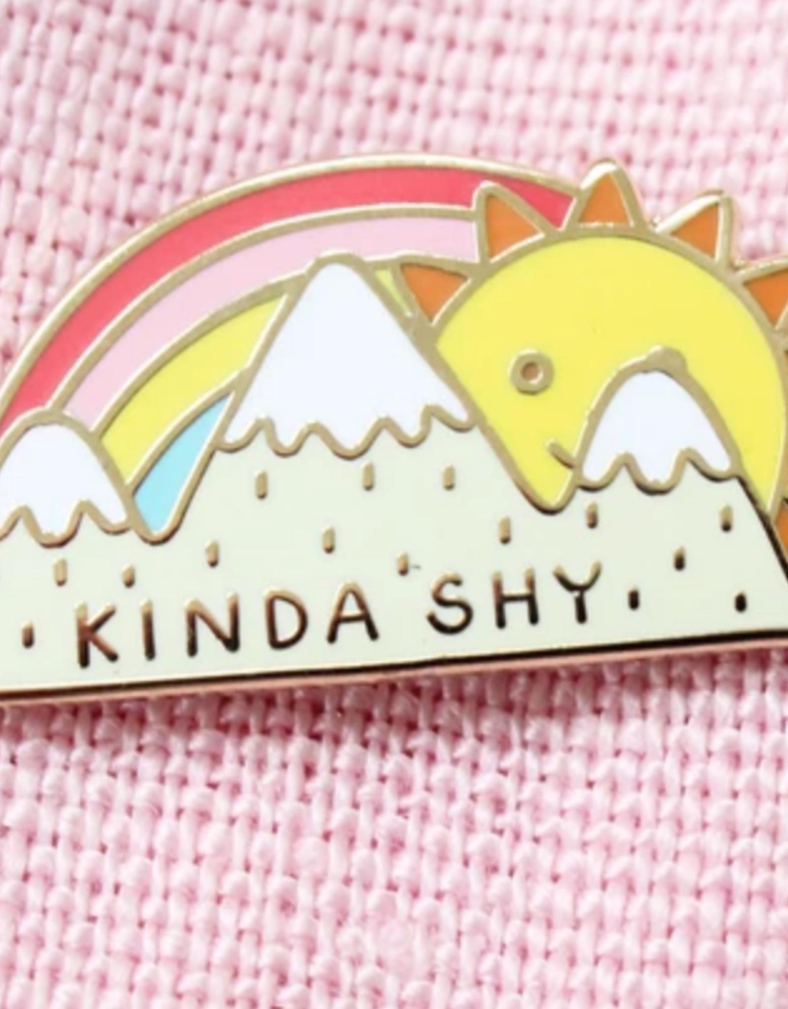 Kinda Shy Sun & Mountains Pin