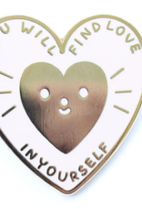 Tender Ghost You Will Find Love in Yourself Pin