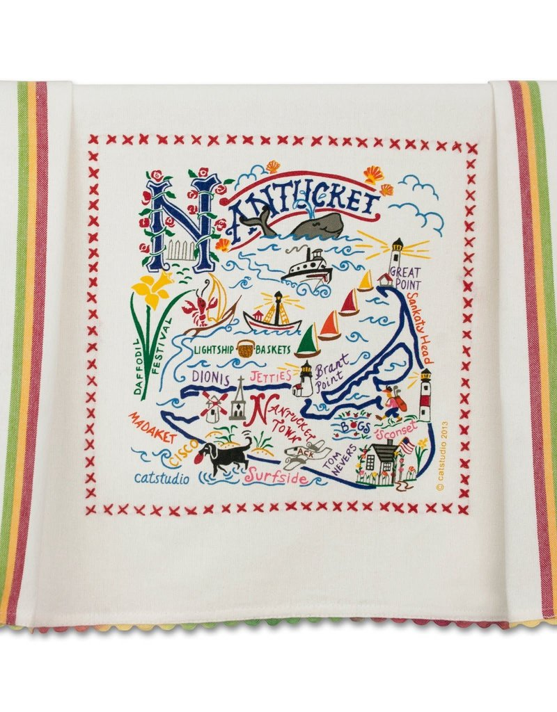 Catstudio Nantucket Dish Towel