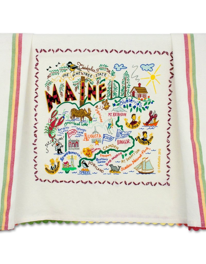 Catstudio Maine Dish Towel