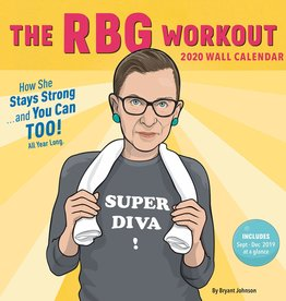 Chronicle Books RBG Workout 2020 Wall Calendar