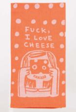 Blue Q Fuck, I Love Cheese Towel