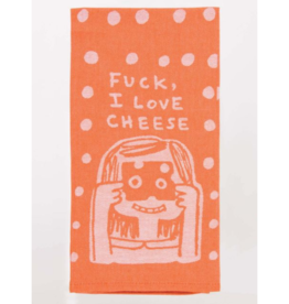 Blue Q Fuck, I Love Cheese Towel