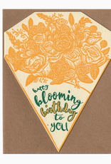 Happy Blooming Birthday to You Greeting Card
