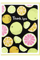 Lucky Horse Press Thank You Citrus Greeting Card