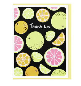 Thank You Citrus Greeting Card