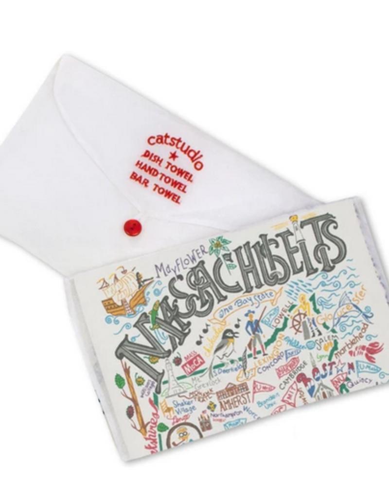 Catstudio Massachusetts Dish Towel