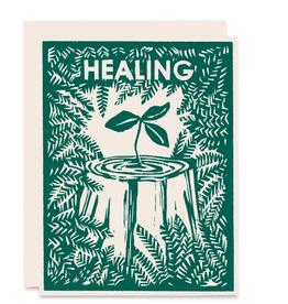 Heartell Press, LLC Healing Nurse Tree Greeting Card