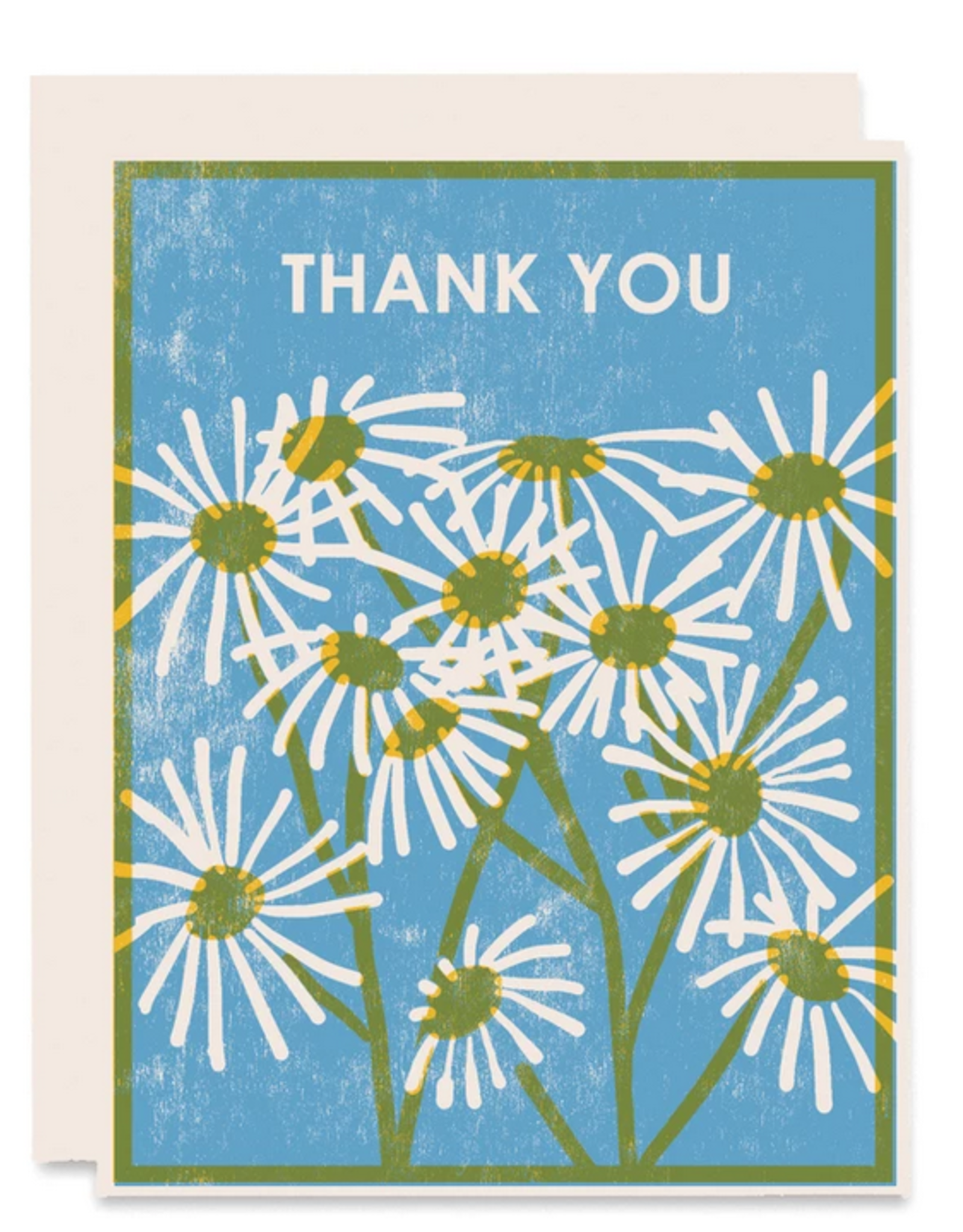 Thank You Daisies Greeting Card