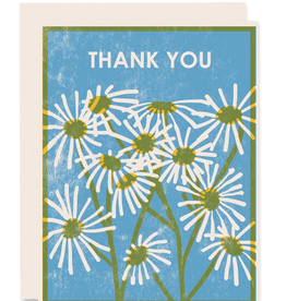 Heartell Press, LLC Thank You Daisies Greeting Card