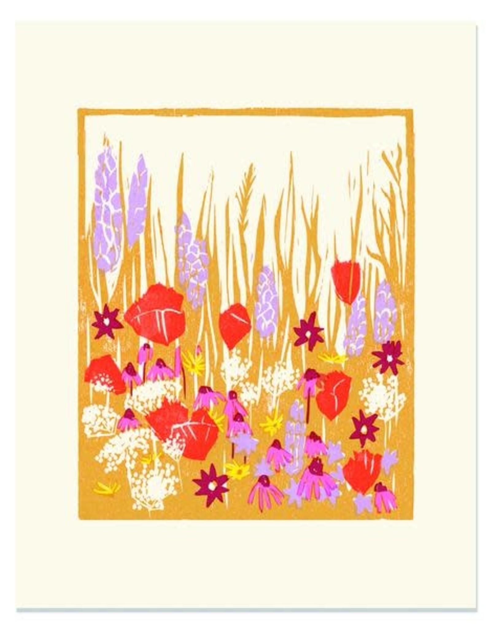 Wild Blooms Print