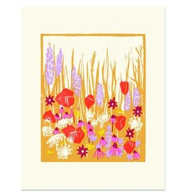 Heartell Press, LLC Wild Blooms Framed Print