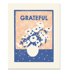 Heartell Press, LLC Grateful For Anemonies Print