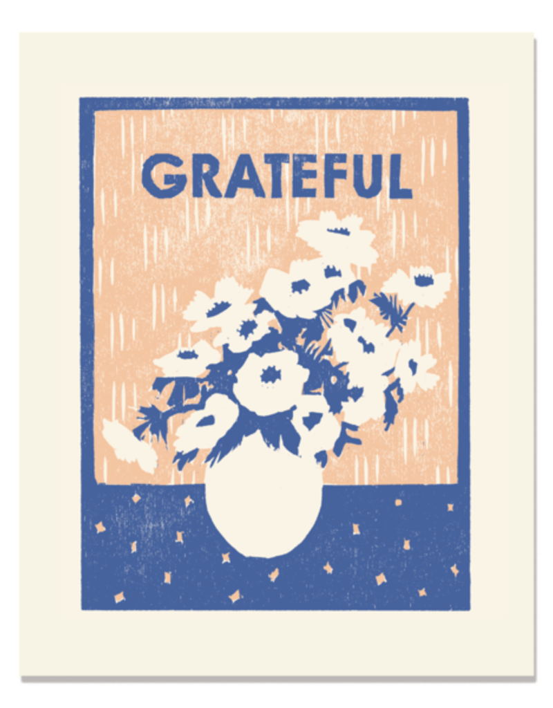 Heartell Press, LLC Grateful For Anemonies Framed Print