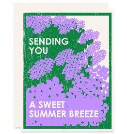 Heartell Press, LLC Sending You A Sweet Summer Breeze Greeting Card