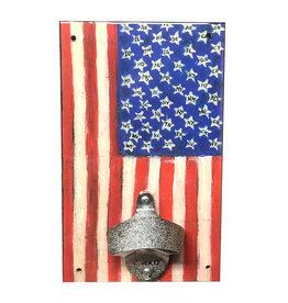 Rep-Air Folk Flag Bottle Opener
