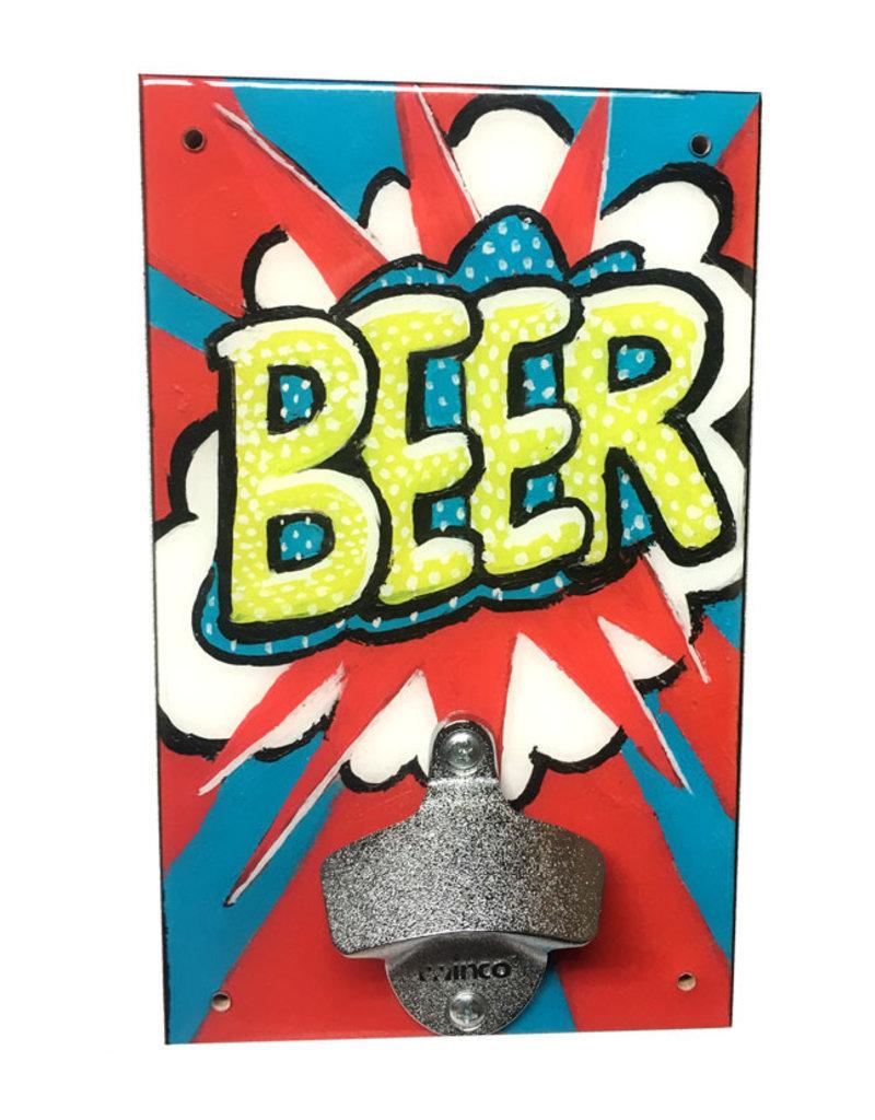 Rep-Air Comic Beer Bottle Opener