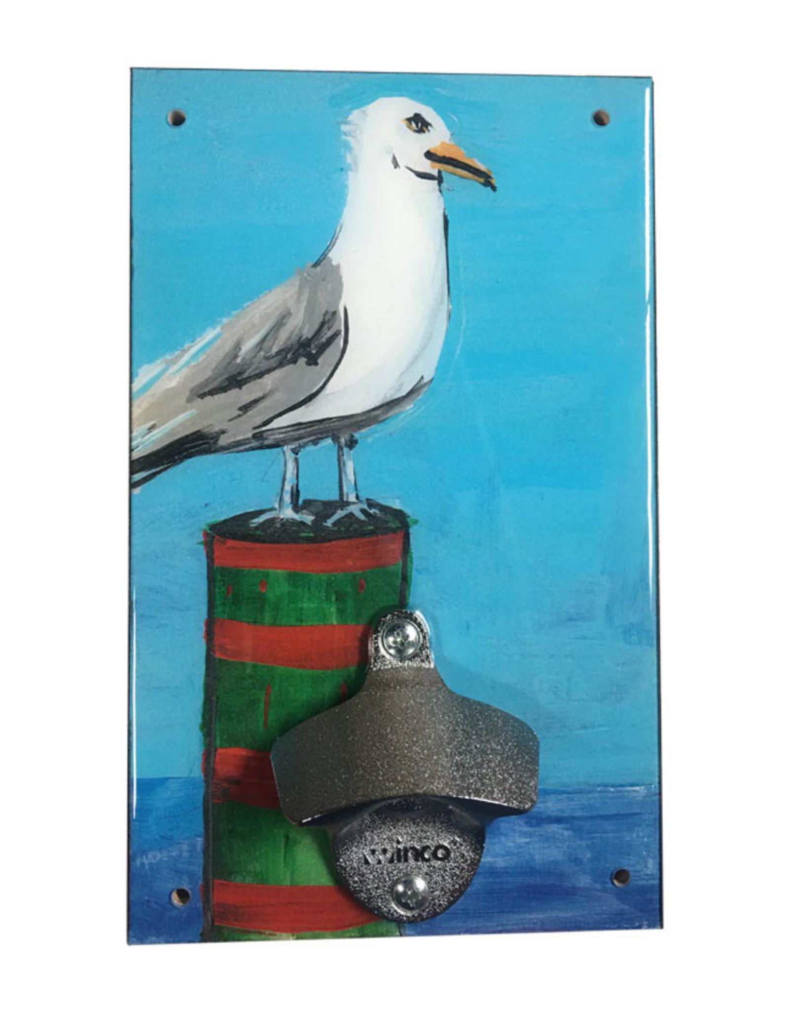 Seagull Bottle Opener