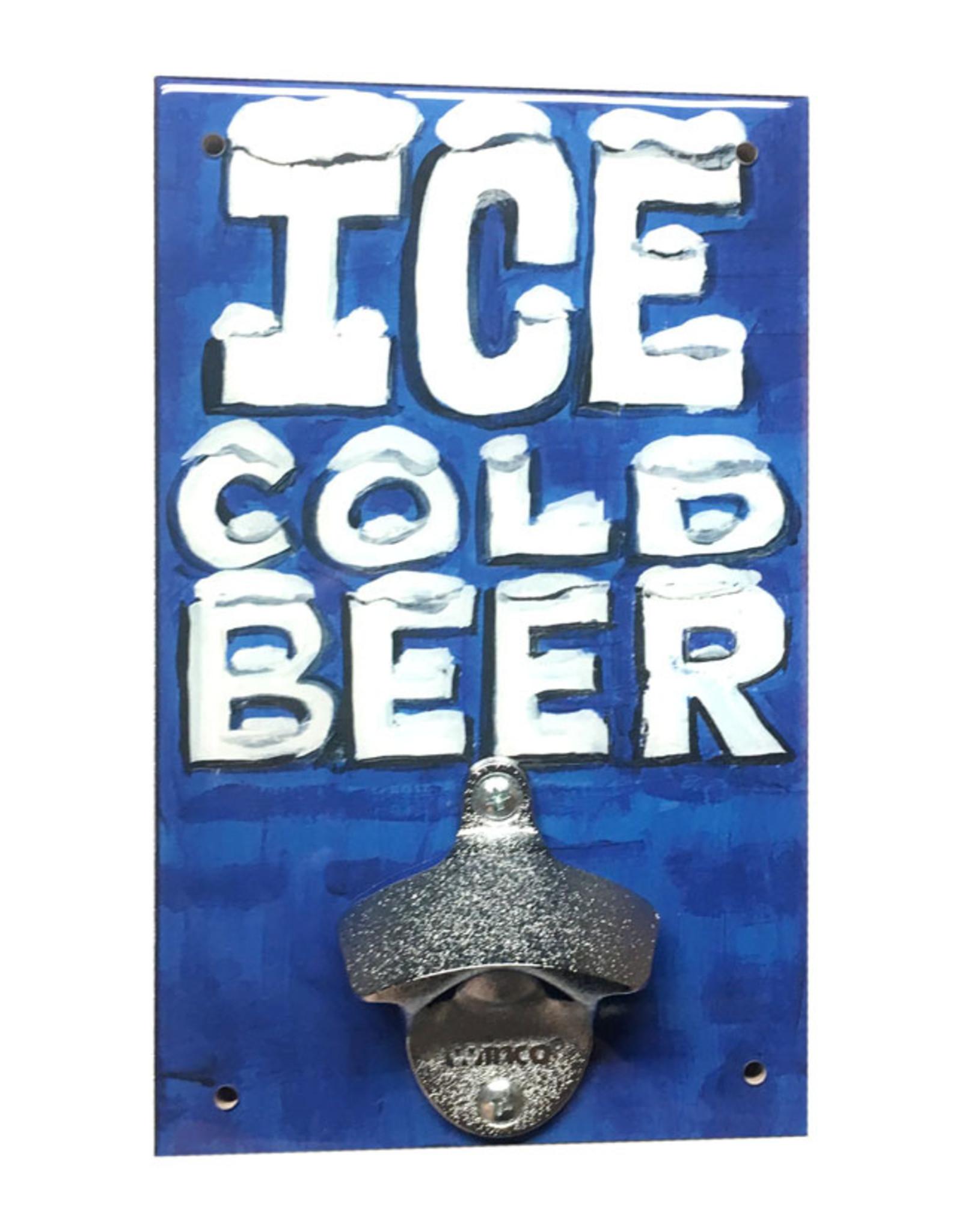 Ice Cold Beer Bottle Opener