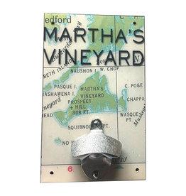 Rep-Air Martha's Vineyard Map Bottle Opener