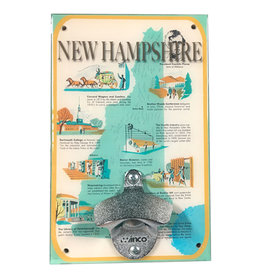 New Hampshire History Bottle Opener