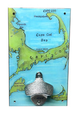 Rep-Air Cape Cod (Painted Map) Bottle Opener
