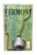 Vermont Map Bottle Opener
