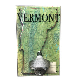 Rep-Air Vermont Map Bottle Opener