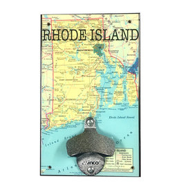 Rhode Island Map Bottle Opener