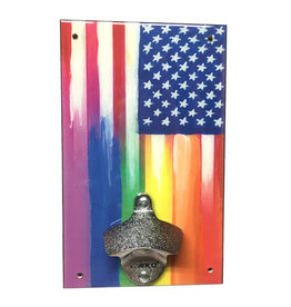 Rainbow Flag Bottle Opener