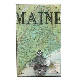 Maine Map Bottle Opener