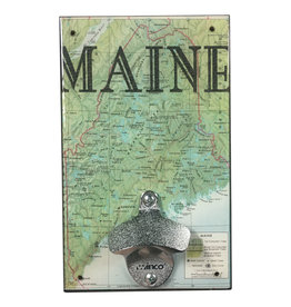 Rep-Air Maine Map Bottle Opener