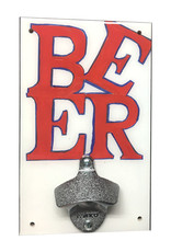 Rep-Air BEER (love sign) Bottle Opener