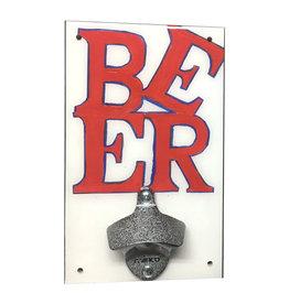 Rep-Air BEER (love sign) Bottle Opener