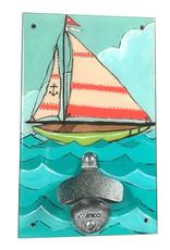 Rep-Air Sailboat Bottle Opener