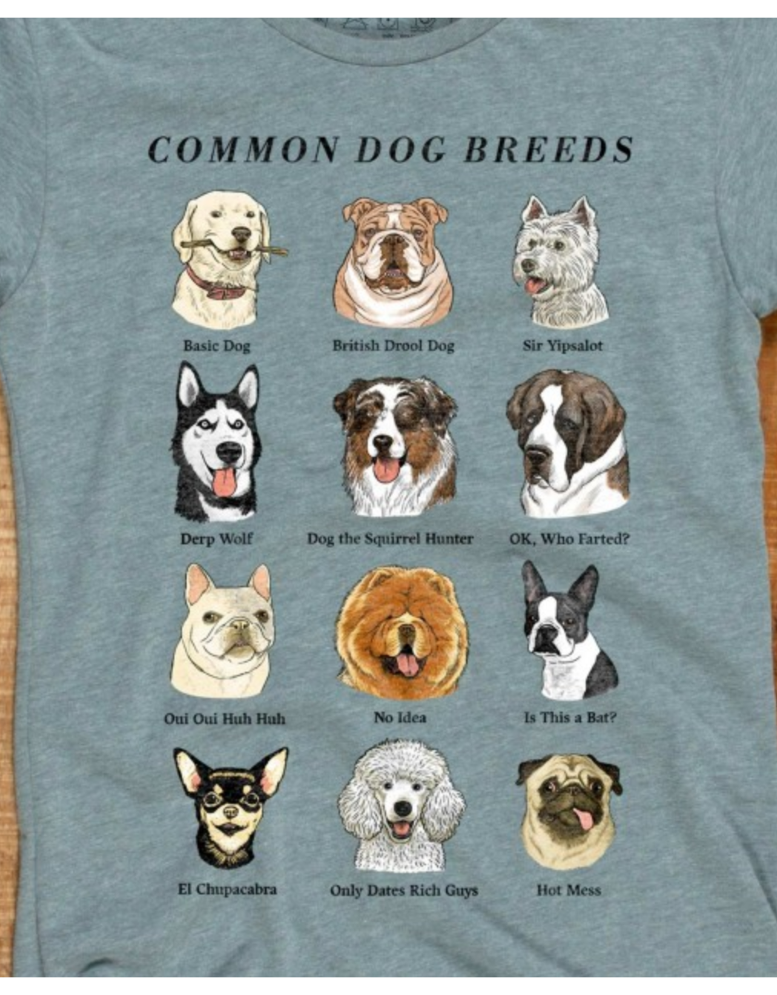 Common Dog Breeds T-Shirt
