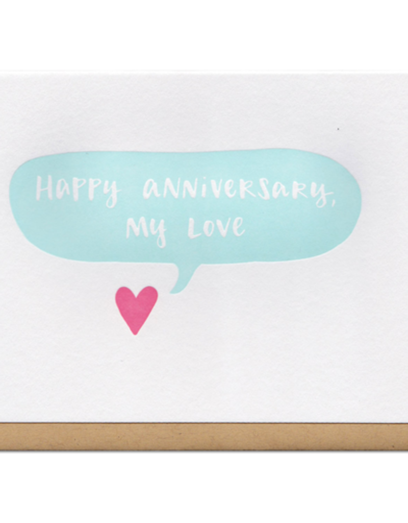Frog & Toad Press Happy Anniversary, My Love Greeting Card