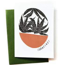 Gracias! (Agave) Greeting Card