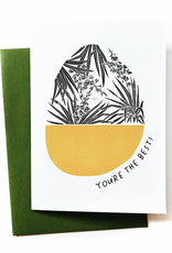 You're The Best! (Yucca) Greeting Card