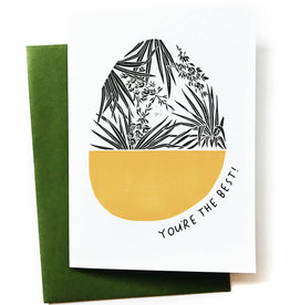 Anna Tovar You're The Best! (Yucca) Greeting Card