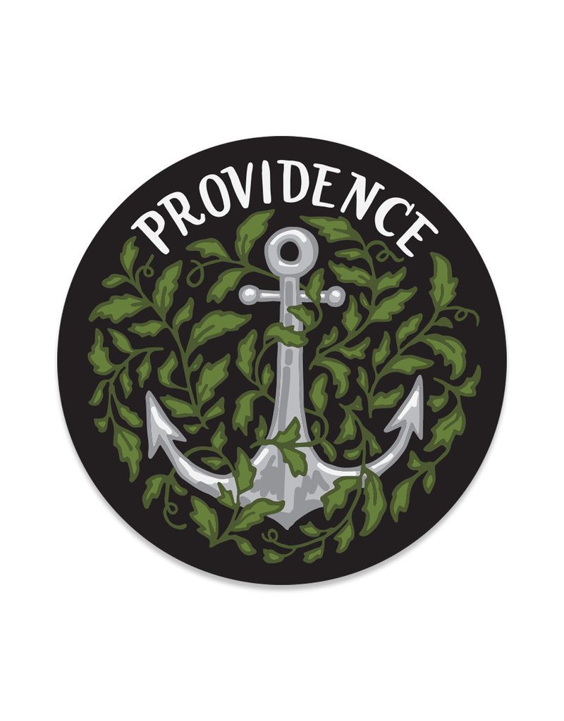 Frog & Toad Press Providence Anchor Sticker