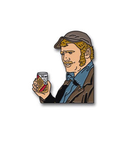 Narragansett Beer Crush it Like Quint Narragansett Jaws Pin