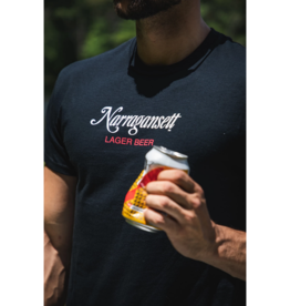 Narragansett Beer Crush it Like Quint Narragansett Jaws Shirt