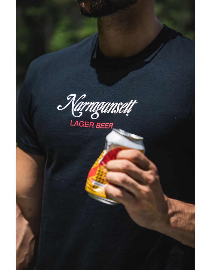 Narragansett Beer Crush it Like Quint Narragansett Jaws Shirt