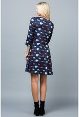 LA Soul Forest Animals Tunic Dress