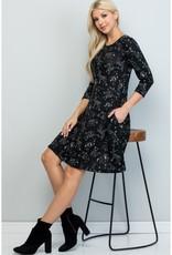 LA Soul Celestial Animal Print Tunic Dress
